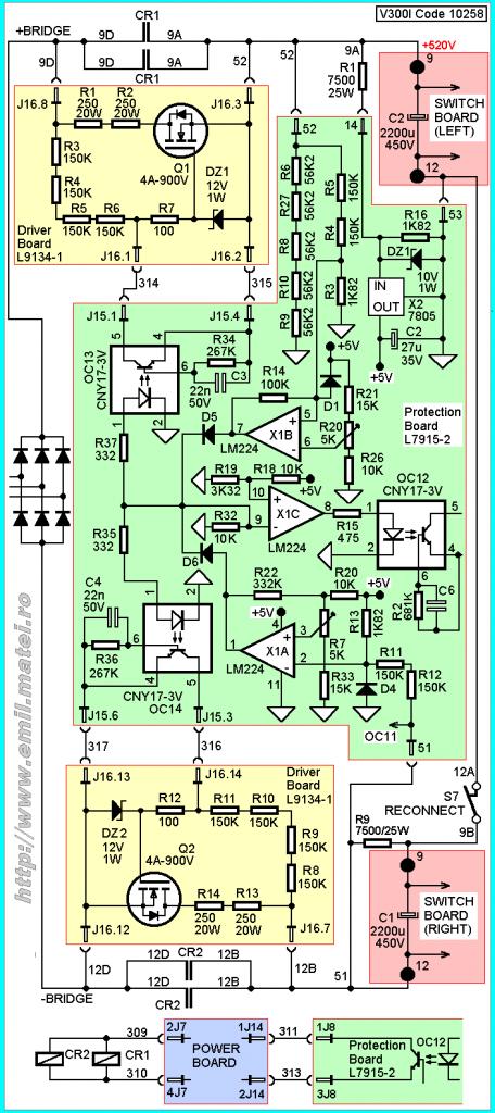 Welding Inverter Startup Circuit